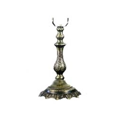 NNL-342 Zinc Alloy Lamp Base   W: 18cm, H: 26cm MOQ Requirement: 20pcs