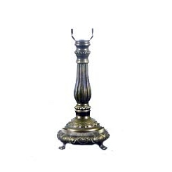 NNL-615M Zinc Alloy Lamp Base   W: 16cm, H: 29cm MOQ Requirement: 20pcs