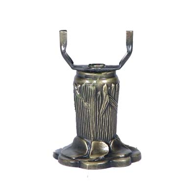 NNL-EA056S Zinc Alloy Lamp Base   W: 8cm, H: 8.5cm MOQ Requirement: 20pcs