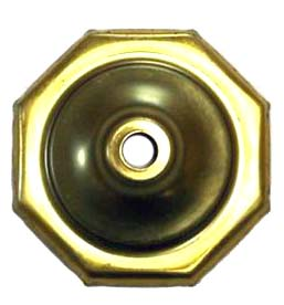 "O8CAP 8 Sided Brass Vase Caps   Side length: 1-1/4""(32mm)"