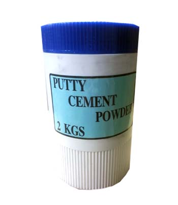 LPC-01P Leponitt Putty Cement Powder 2KGS   Mixing powder and oil, then brush putty cement into gaps between glass and lead to strengthen waterproof and strength of panels.   LPC-01P : Powder 2KGS  L  PC-10P : Powder 20KGS  LPC-01 : Oil 950C.C. + Powder 2KGS  LPC-10 : Oil 10L + Powder 20KGS