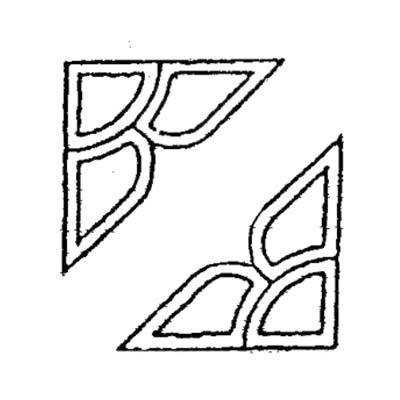 """VBC-1 : 7""""×7"""", 6PCS"""