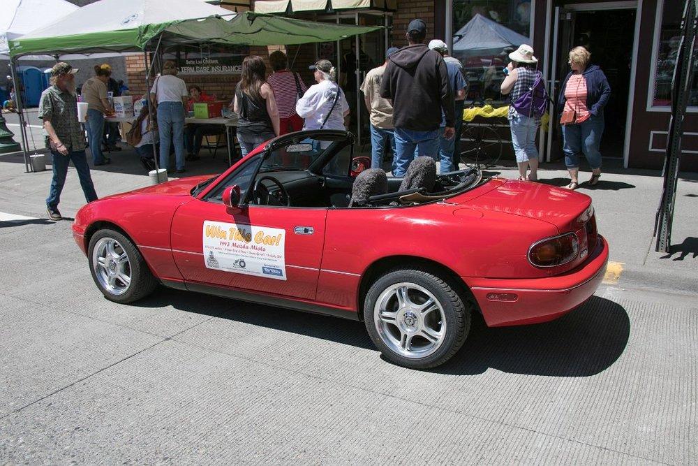 RAFFLE CAR