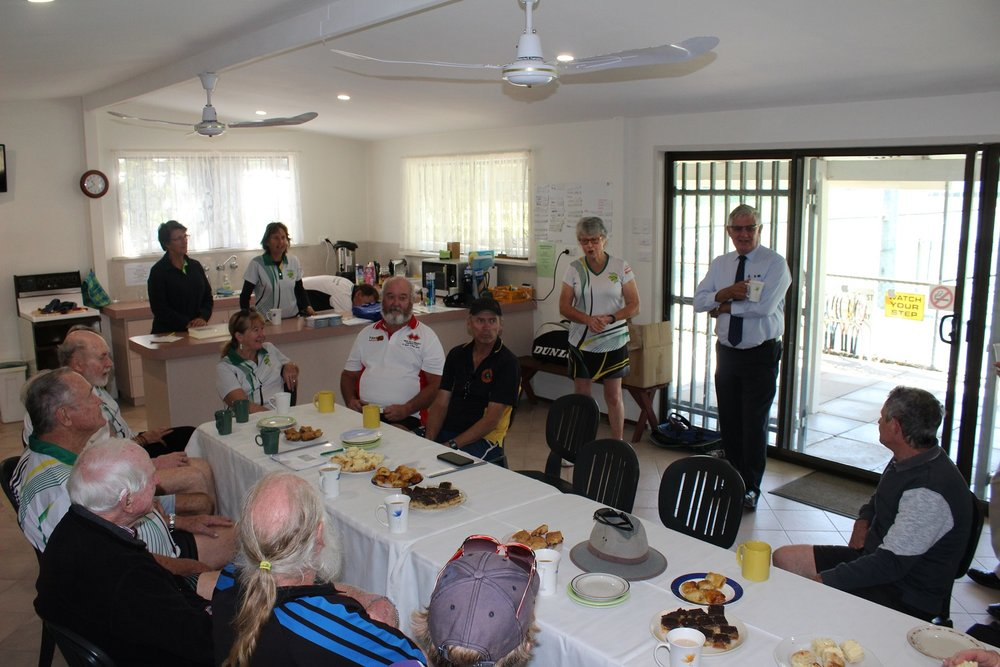 Pam Wilkinson, Mundaring Tennis Club President - I want to pass on our sincerest thanks to Ken for his very supportive letter to assist us with our endeavour to gain funds for resurfacing our courts. It was very well worded and I do hope will lend us a very good amount of weight.We do appreciate his taking on our cause and we look forward to his continued support, as we will be giving him ours.