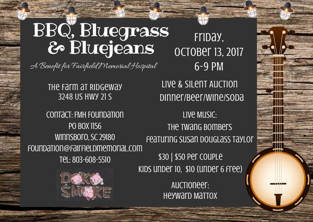 BBQ Bluegrass & Bluejeans