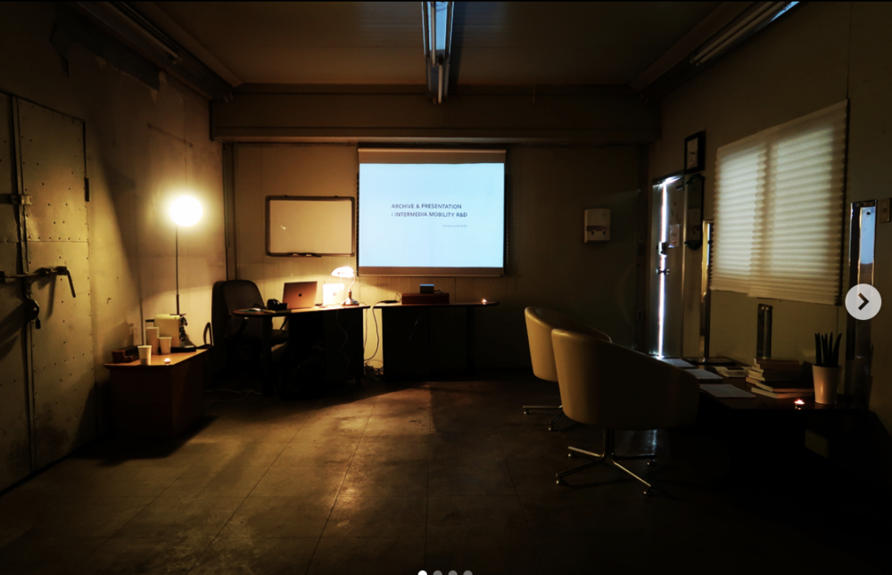 INTERMEDIA MOBILITY R&D ARCHIVE & PRESENTATION, 2018  archive & Presentation