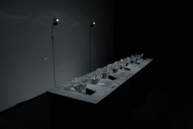 SYMPHONIE AQUATIQUE, 2016  water-sound installation