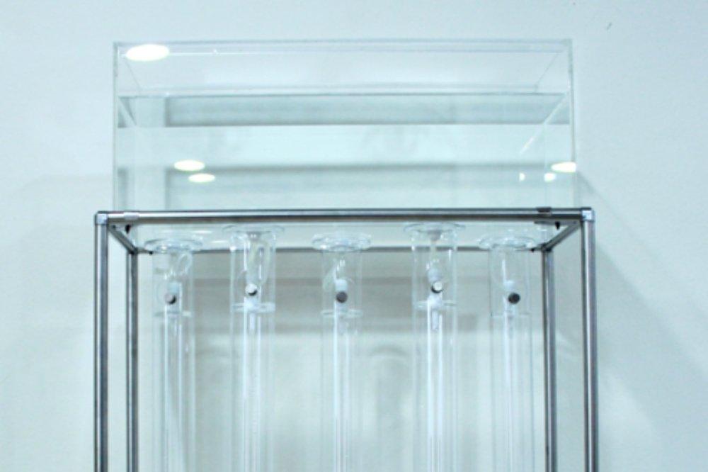 AQUAPHONICS V1, 2014  water-sound installation
