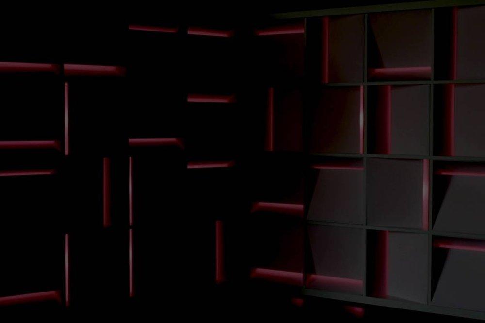 CHROMATIC SCAPE I, 2016  ligth-sound installation