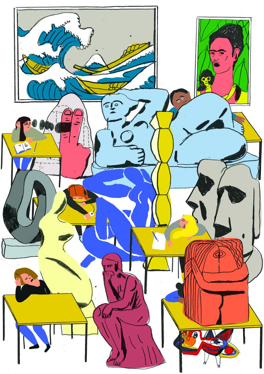 Illustration by Mari Kanstad Johnson