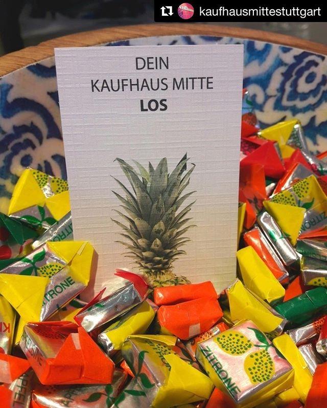 #Repost @kaufhausmittestuttgart with @get_repost Auf gehts zum Kaufhaus Mitte! 🏃🏻♀️🏃🏿♂️ ・・・ Ab morgen gibt es bei uns im Shop Lose. Während unserer Jubiläums-Woche werden jeden Tag die Gewinner gezogen. Zu gewinnen gibt es tolle Preise von unseren Lieferanten und jede Menge Einkaufsgutscheine. Los geht's! #kaufhausmitte #Stuttgart #0711