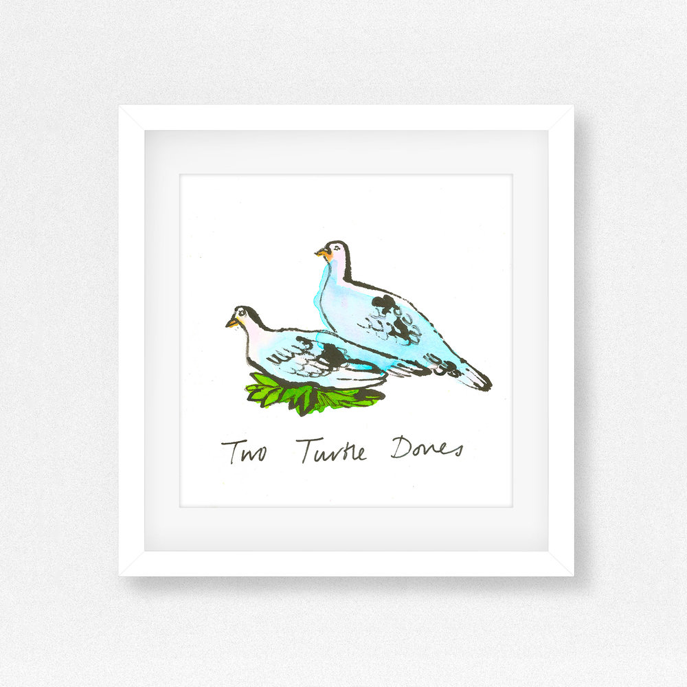 Two_Turtle_Doves_Illustration