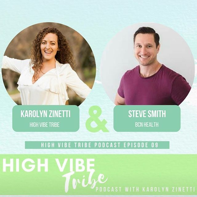 💛📒Tune in to High Vibe Tribe podcast for our value packed interview with Steve Smith from BCN Health. ❤️📕 We discuss how to improve your SLEEP, ENERGY, and mental wellbeing. 📙🧡 How turmeric can reduce inflammation and pain. 📗💚 How to boost your low testosterone. 📘💙 What diet is right for you! 📚🖤 Importance of movement and morning routines for energy and longevity! 📝And loads more inspo click the link in bio to tune in and let us know what you think. 😊@highvibetribe.com.au . . #health #energy #sleep #testosterone #entrepreneur #mindset #movement #herbs #stress #growth #happiness #success #smoothie #food #fitness #mentalhealth #womenempowerment #womenshealth #bossbabes #naturopath #f45 #crossfit #perthisok #australia #podcast #author #podcastlife #yoga #meditation #instagood