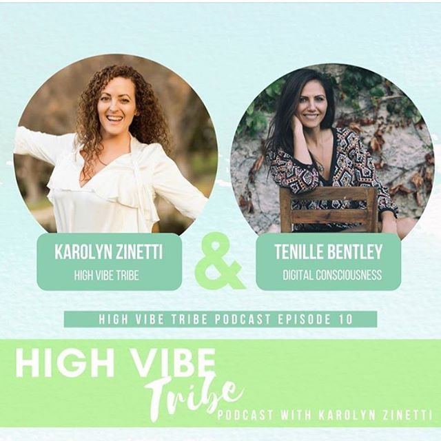 Tune into our new ✨High Vibe Tribe ✨podcast on iTunes I chat with special guest @tenillebentley she shares her powerful journey. What is digital consciousness, how we can be more mindful of our relationship with social media. ✨Action steps to reduce time on our phones and how to be more mindful and present. ✨We discuss the healing benefits of sound frequency including DNA repair, calmness and inner peace. ✨ How does wifi and emf affect your health? ✨Her favourite quote is The meaning of life is to find your gift. The purpose of life is to give it away. Pablo Picasso ✨iTunes link in BIO! . . #soundfrequency #yoga #highvibetribe #podcast #digitalconsciousness #health #wellness #goals #vision #success #meditation #dailyrituals #greatness #love #truth #happiness #epic #limitless #mindset #growth #author #purpose #gratitude #pilates #instagood #perth #perthisok #fremantle #secretsinthegarden #friends
