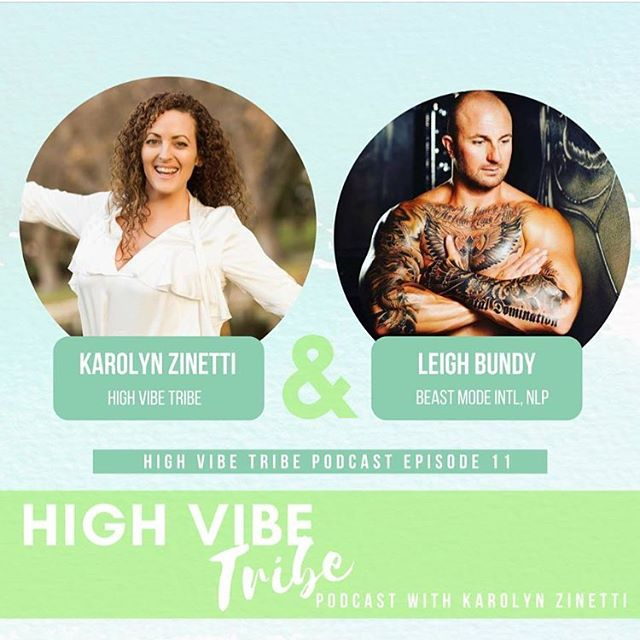 New High Vibe Tribe podcast episode 12 with @beastmodeintl Leigh Bundy. It's value packed his energy is electric. My fave takeaways are  success priming morning rituals to upgrade all areas of your life. ❤️ Tune in iTunes link in bio.  He runs transformational retreats in Bali his 27th retreat is January 28- feb 3. Check his page for more details. 😊 . . . #success #rituals #attitude #growth #passion #purpose #quote #vision #author #coach #nlp #bali #retreats  #health #wellness #perth #mindset #entrepreneur #gratitude #austalia #athlete #fitness #coach #yoga #f45 #sport #mentalhealth #suicideprevention