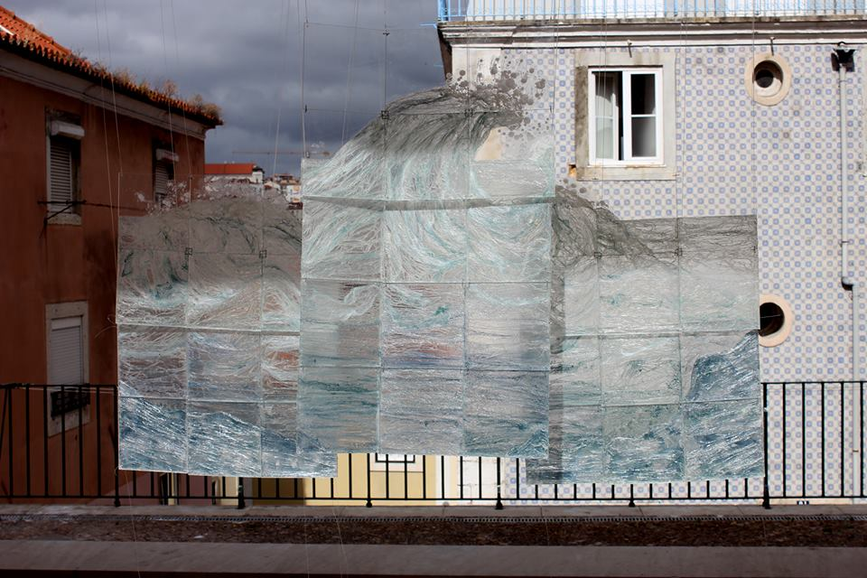 Intacto päivänvalossa Lissabonin Paratissima -näyttelyssä 2016.