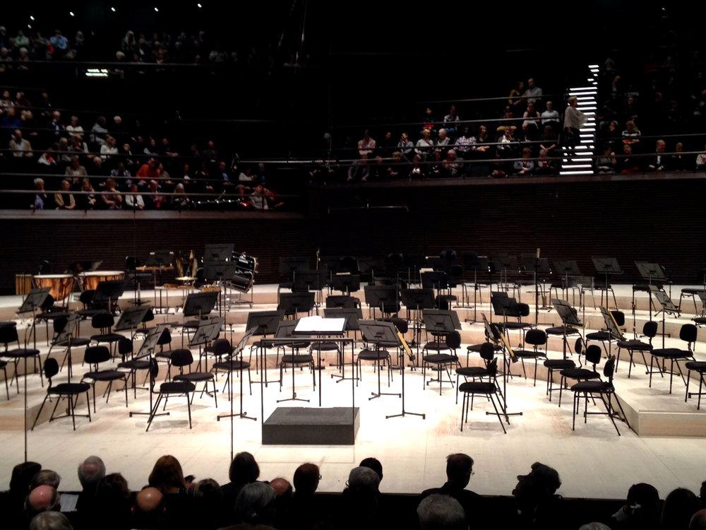 Kuva: Nelli Tuominen, joka konsertissa istui toisella puolella salia kuin minä.