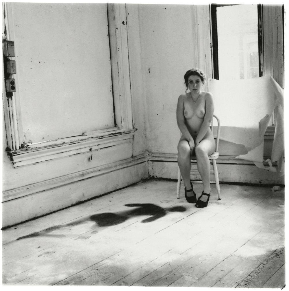 Francesca Woodman, Untitled, Providence, Rhode Island, 1976 © George and Betty Woodman