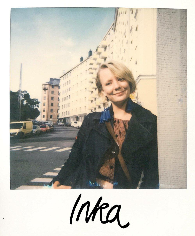 Inka Pohjonen toivoo herättävänsä projektillaan mielenkiintoa erilaisuutta kohtaan sekä ylpeyttä suomalaisuuden kulttuurisesta rikkaudesta.  Kuva: Inka Pohjonen, Kasvotusten - Finland from 100 viewpoints