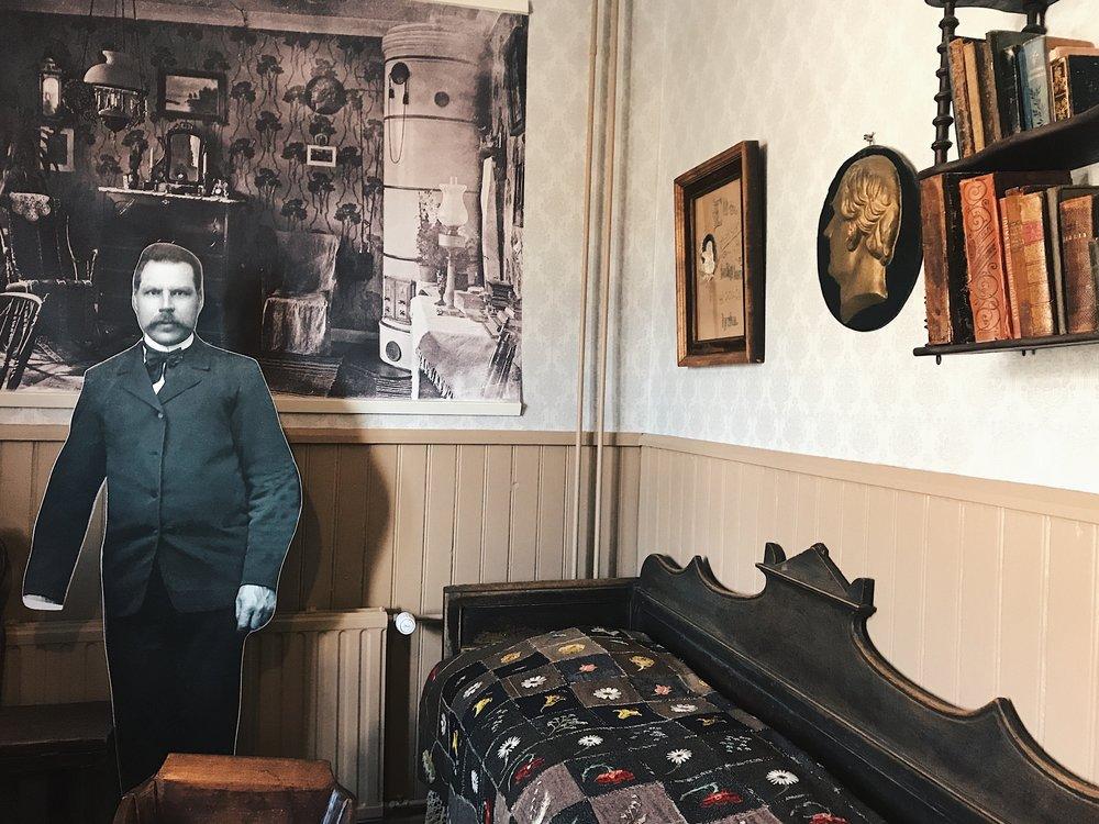 Fiskarsin museossa pääsee tutustumaan ruukin historiaan ja asukkaiden arkeen.