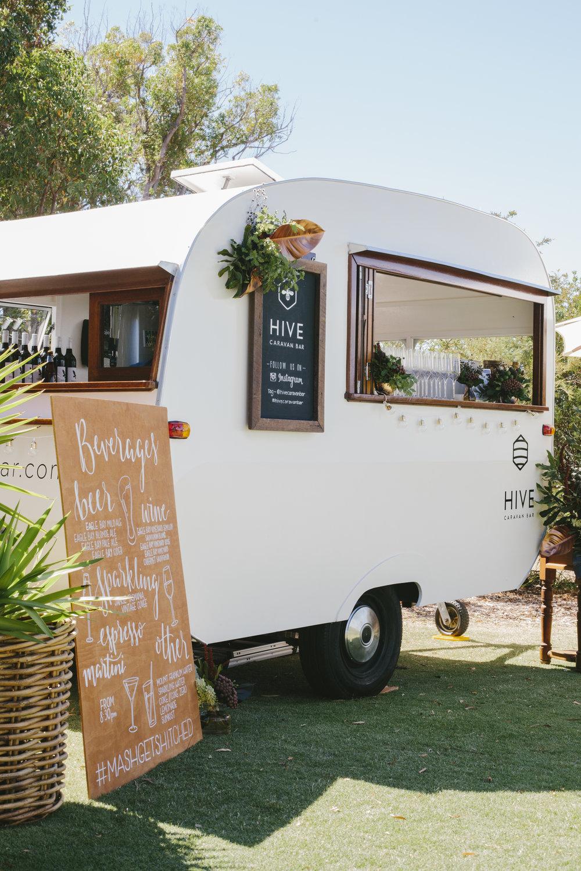 The Hive Caravan Bar