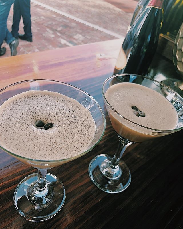 Our Espresso Martini's for the gorgeous Melissa & Tarrant's wedding @oldbroadwaterfarm yesterday 🥂🐝 Congratulations !! 💐💍