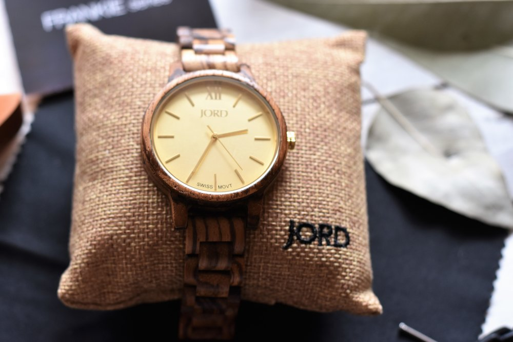 wooden watch Jord