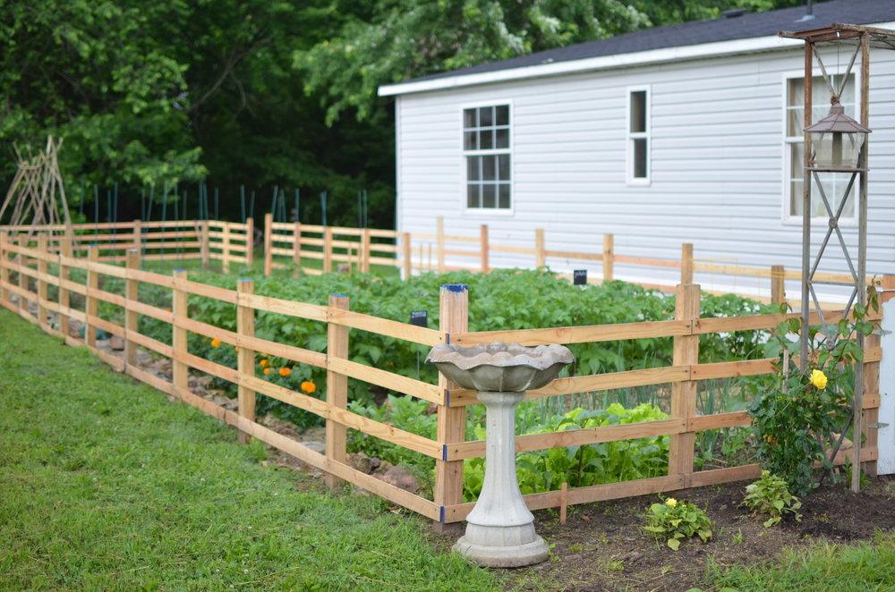 garden fence garden gate