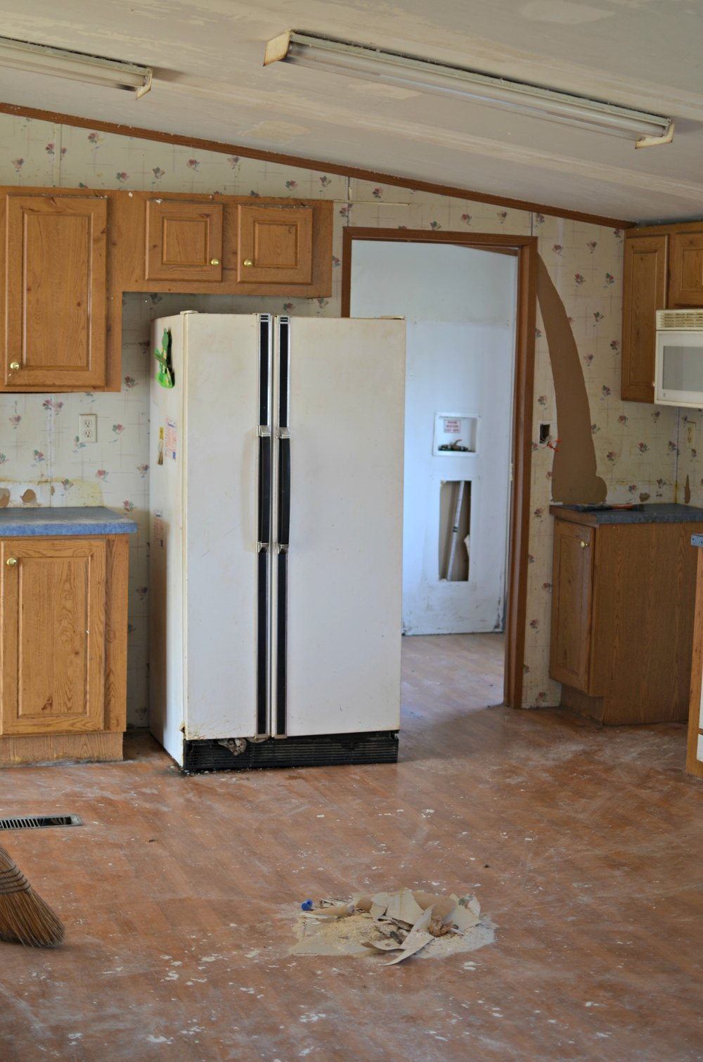 Double Wide Kitchen Remodel