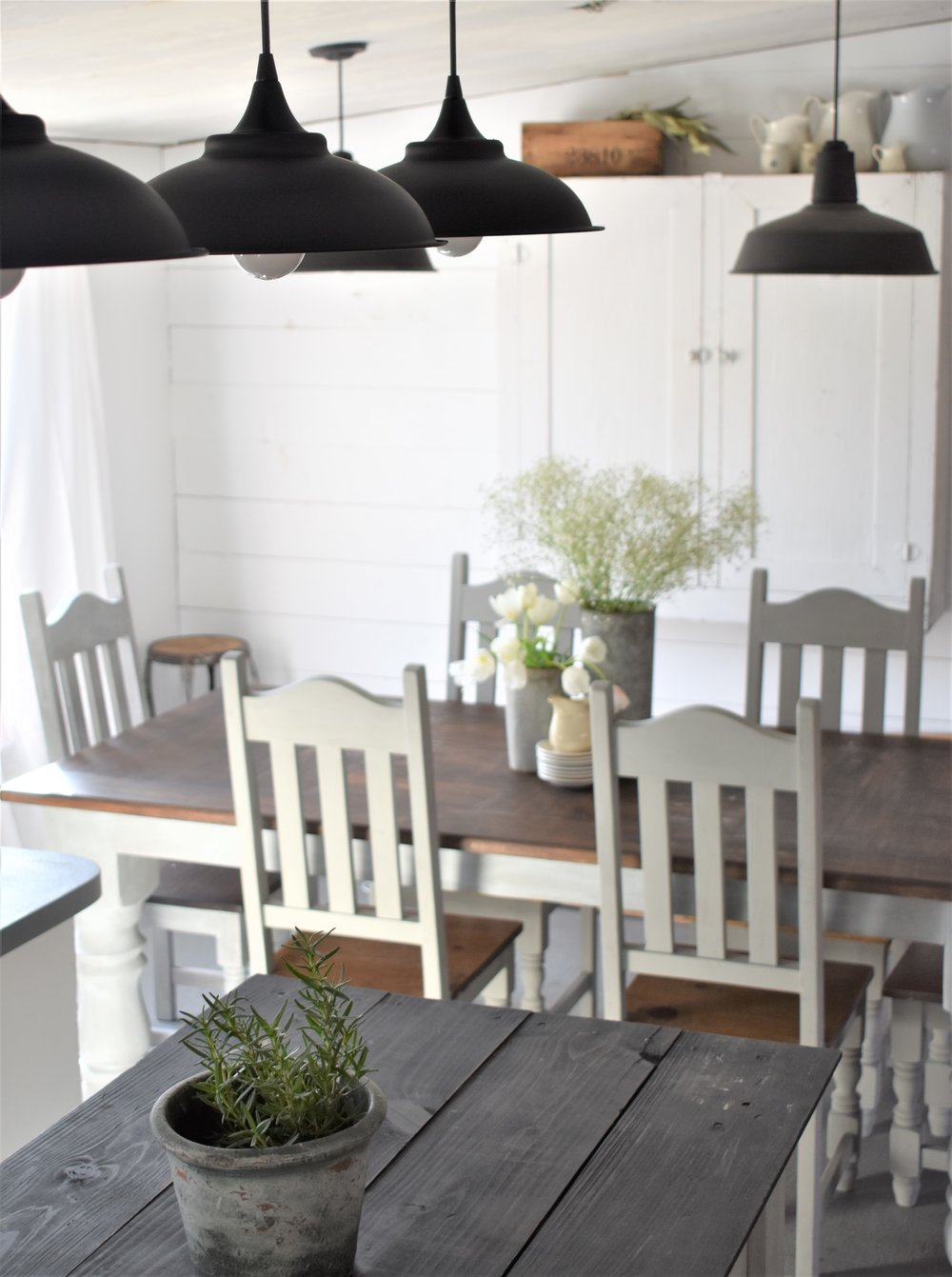 DIY Farmhouse Style Lighting on a Budget | Rocky Hedge Farm