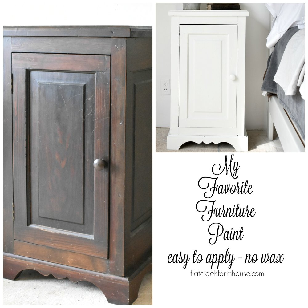 DIY Furniture Painting