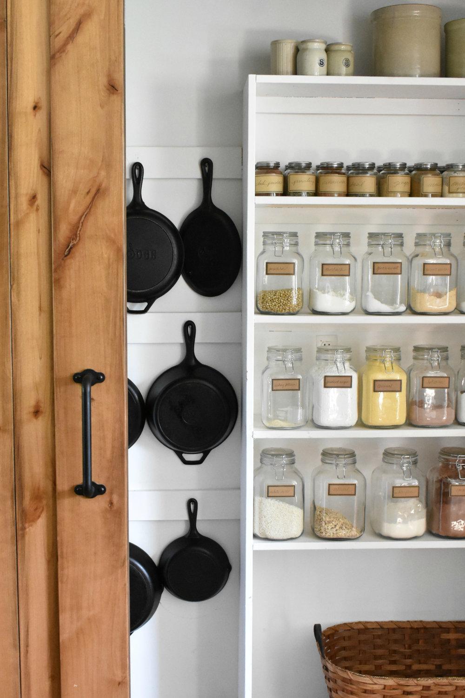 Cast Iron Storage Ideas | Rocky Hedge Farm