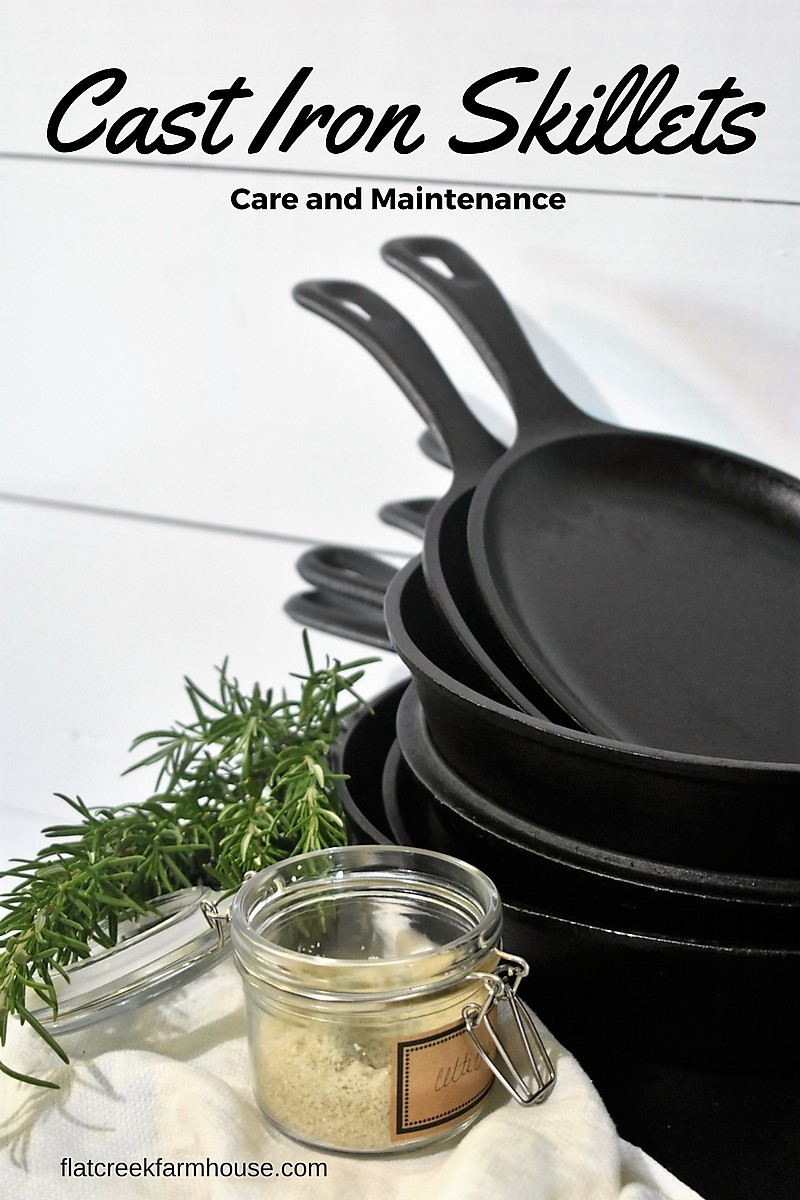 How to properly store and care for cast iron skillets