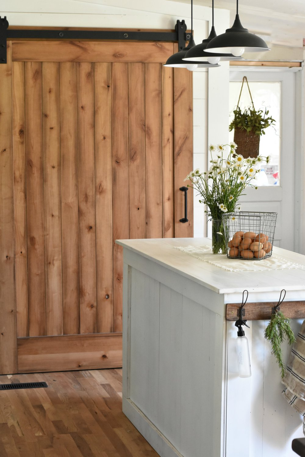 Rustica Hardware Sliding Barn Door Pantry Reveal