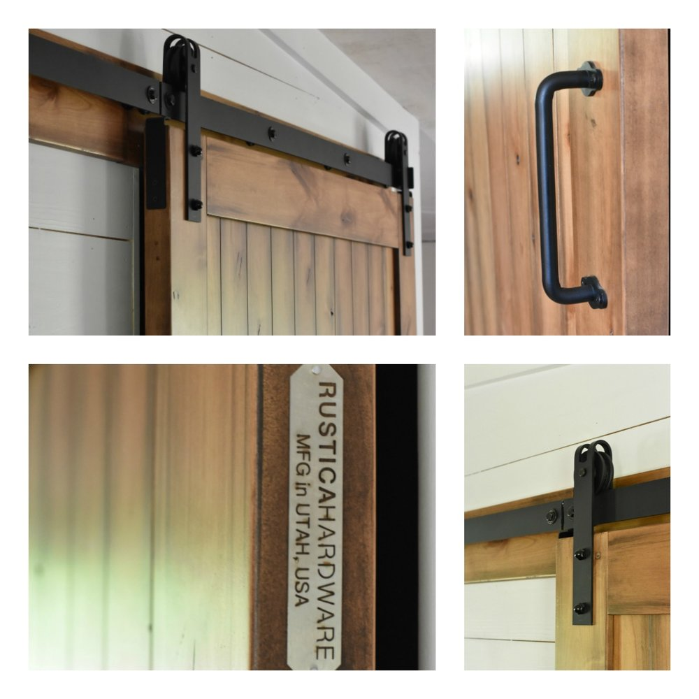 Rustica Hardware Sliding Barn Door