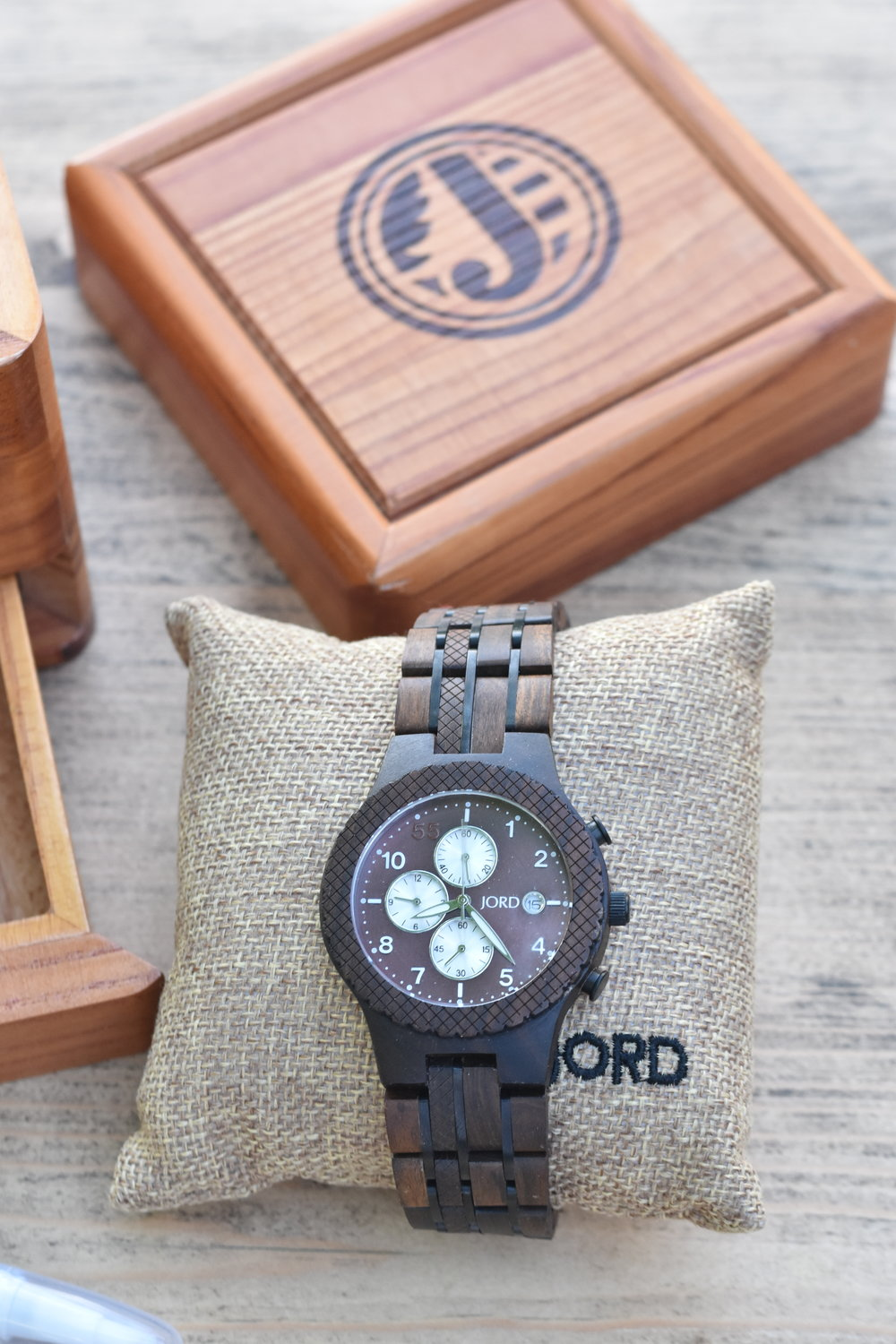 Stylish Wooden Mens Watch Jord