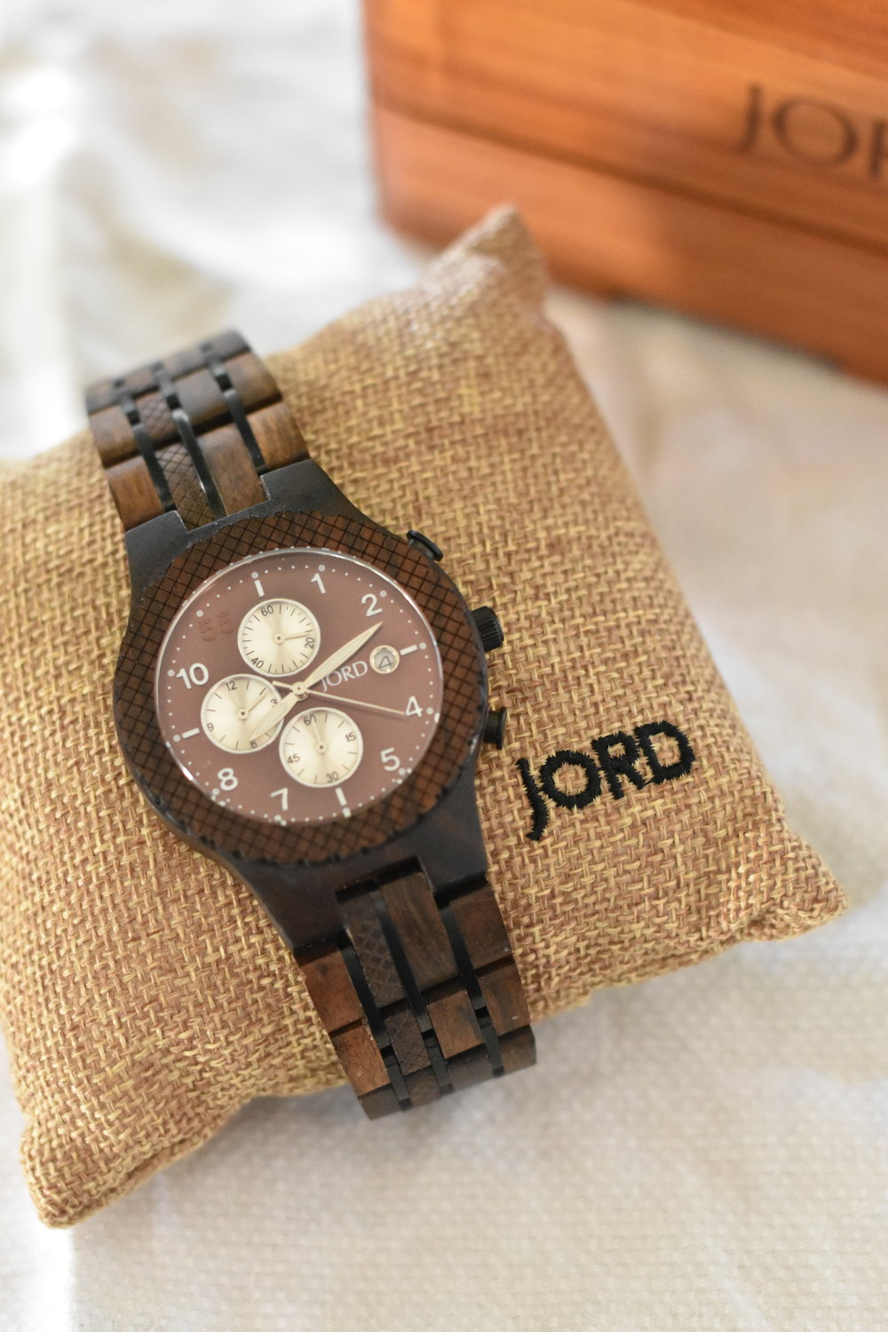 Fathers Day Gift Wooden Watch Jord