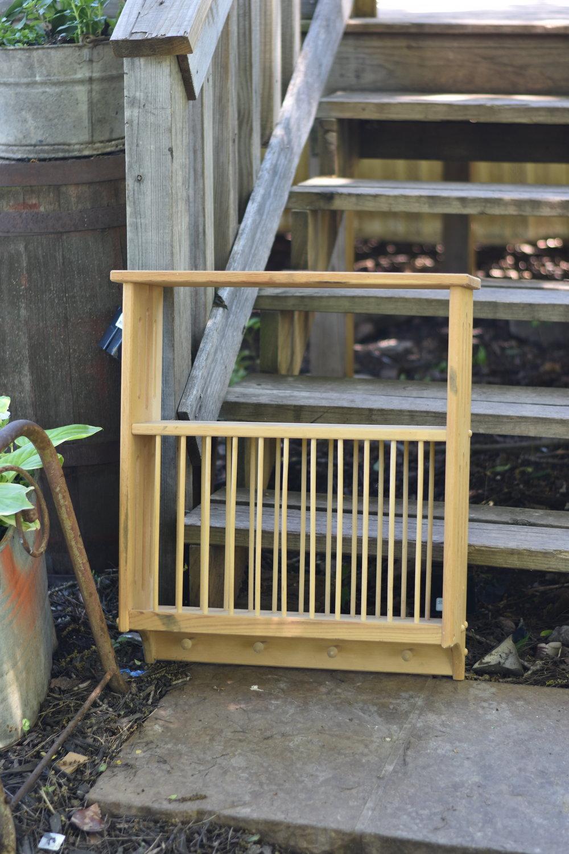Shaker Shelf Peg Rack