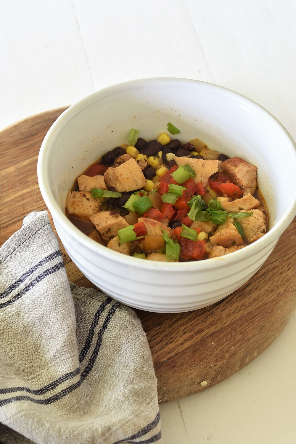 Southwest Chicken Soup THM E Easy and Quick Dinner