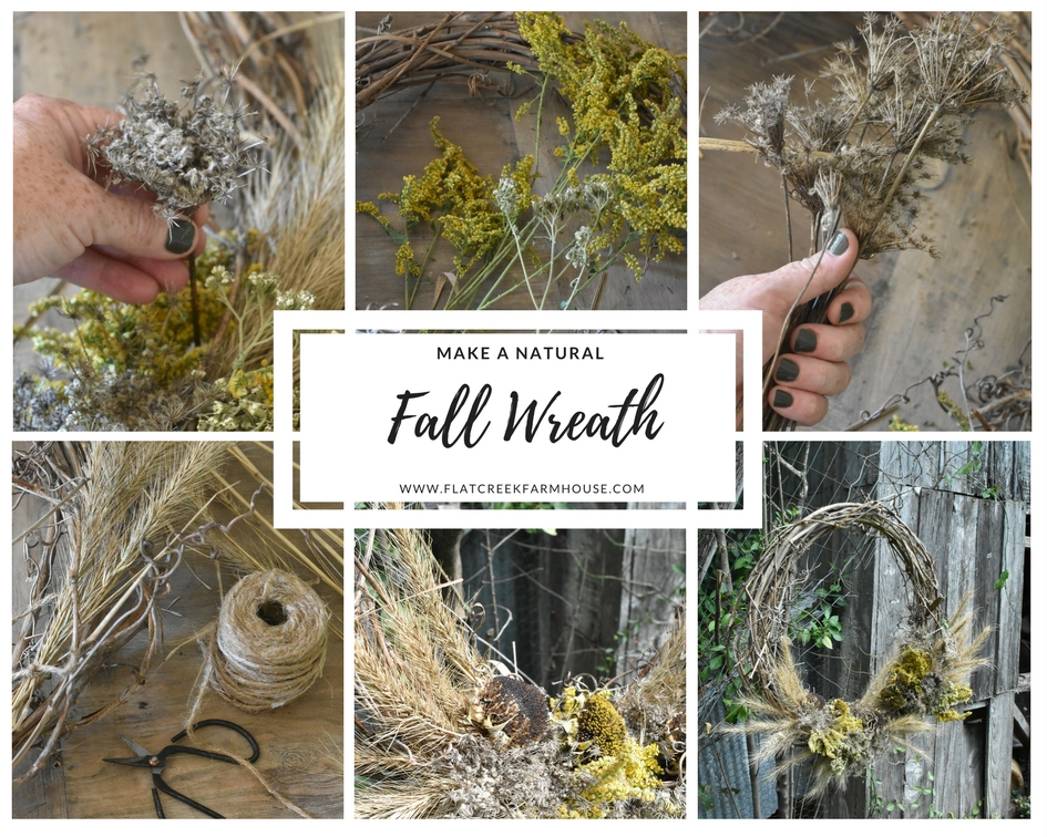 DIY Autumn Wreath Easy