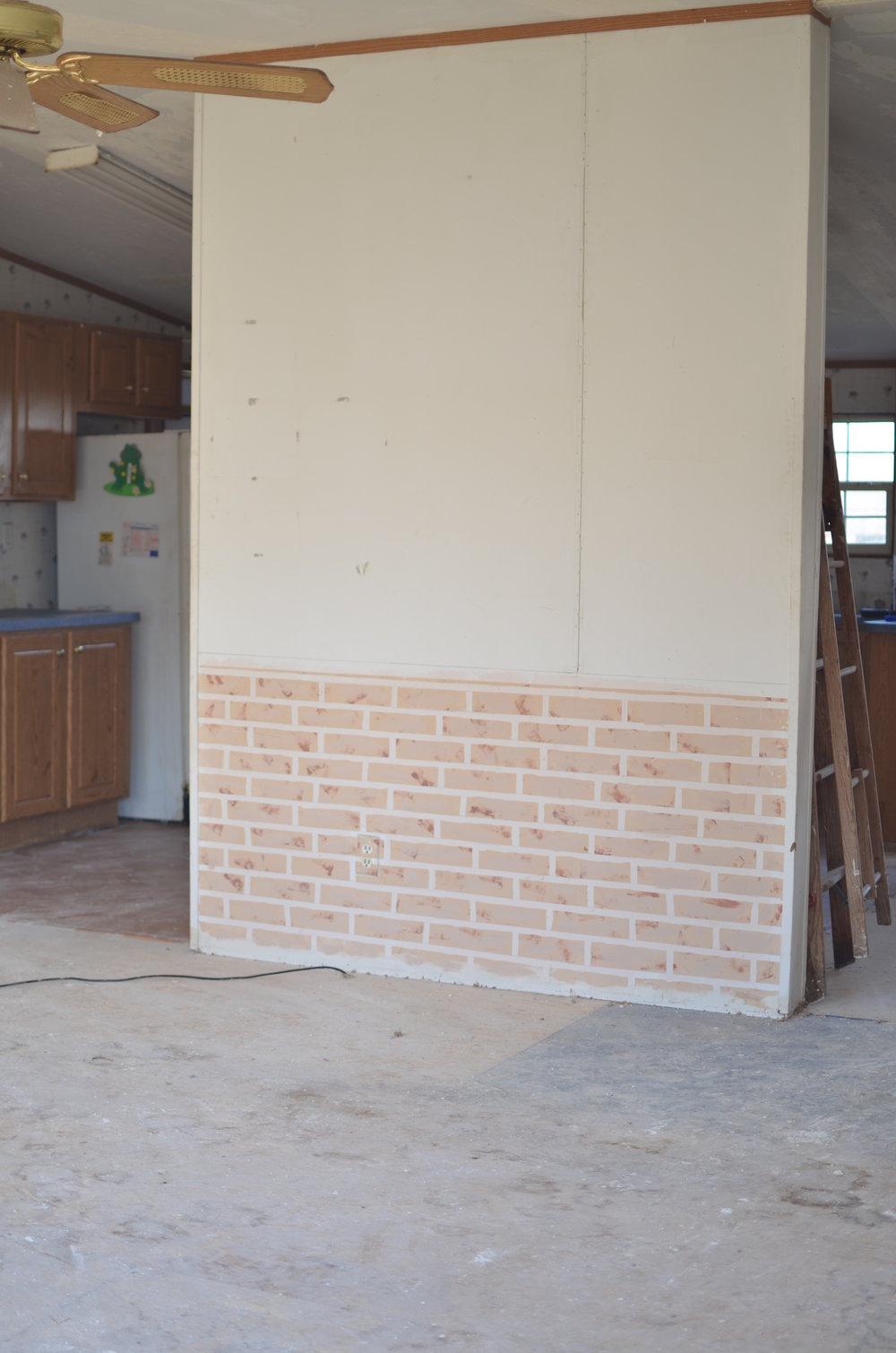 doublewide livingroom remodel