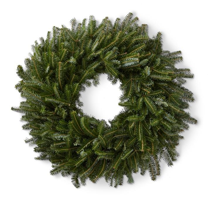 Fresh Fraser Fir Wreath for the Holidays