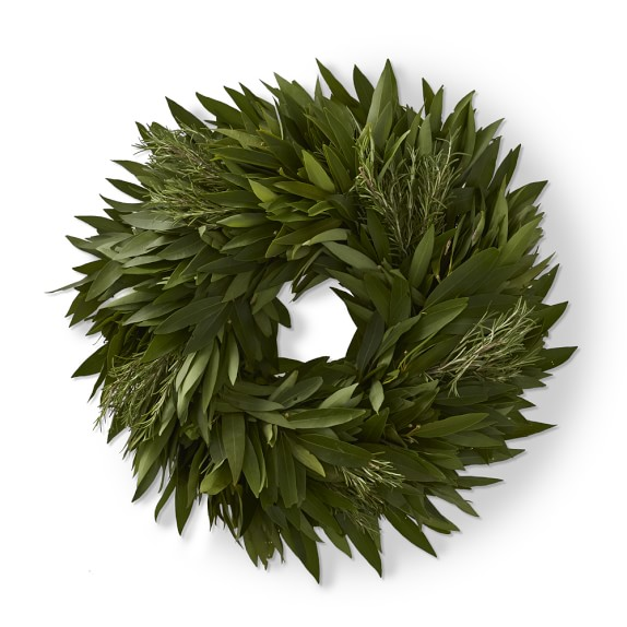Bay Leaf and Rosemary Wreath
