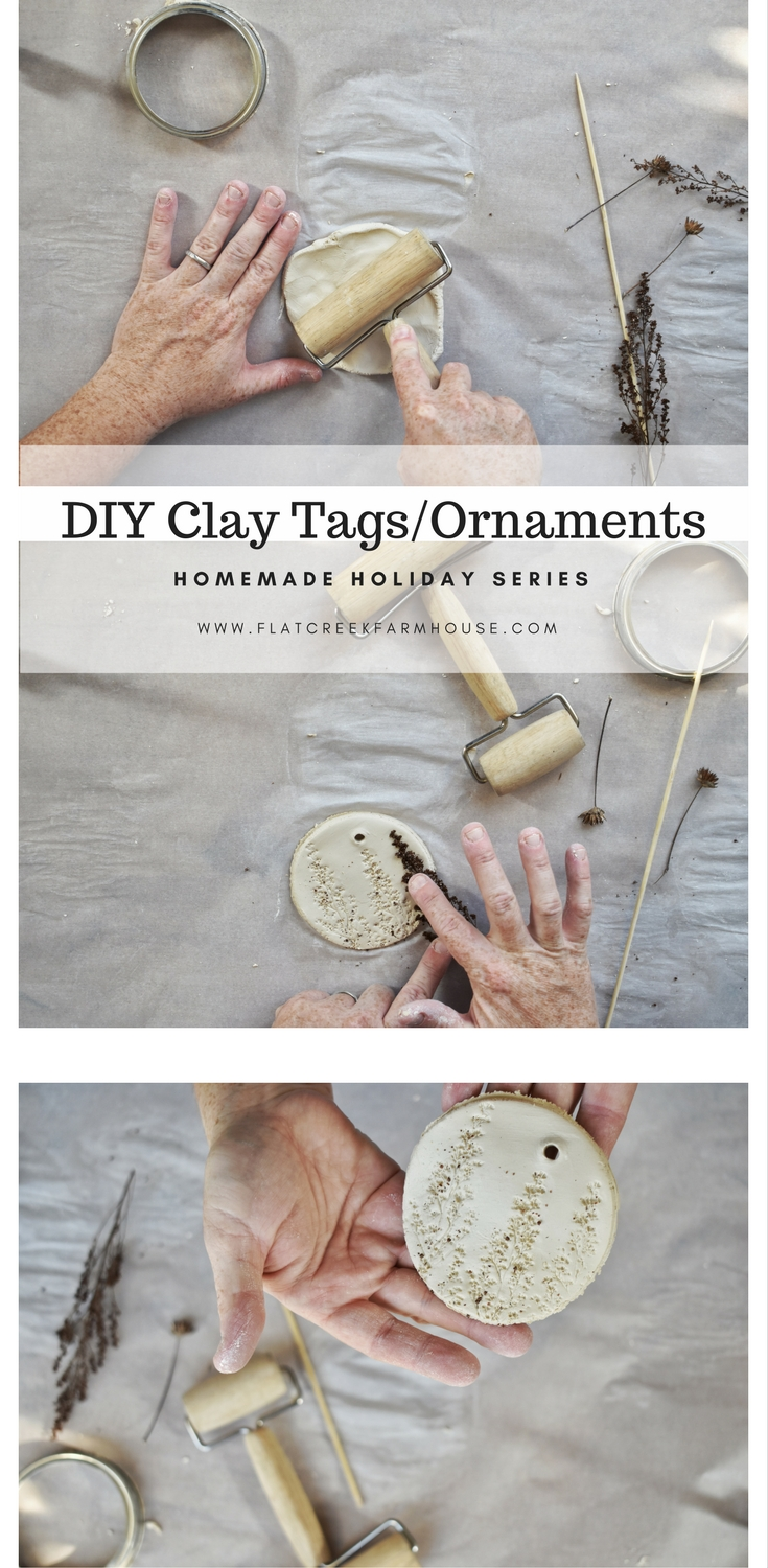Simple and Easy DIY Clay Ornaments for the holidays