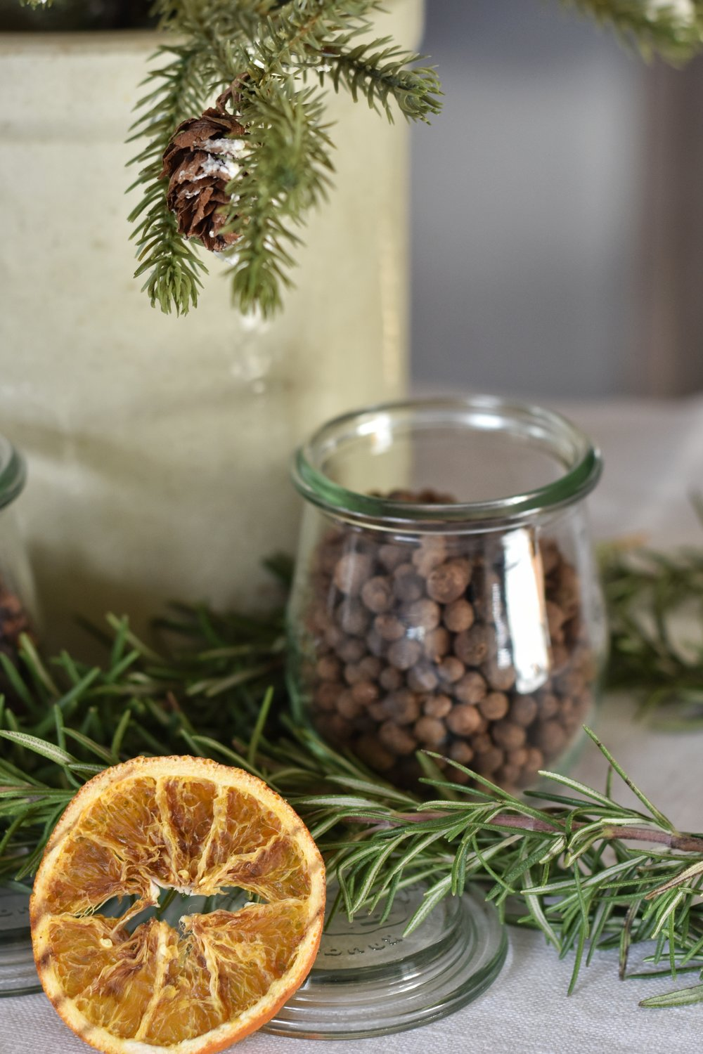How to simmer the best smelling homemade potpourri for the holiday Christmas season.