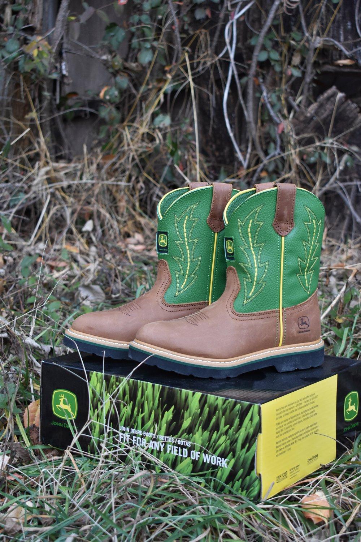 John Deere boot giveaway