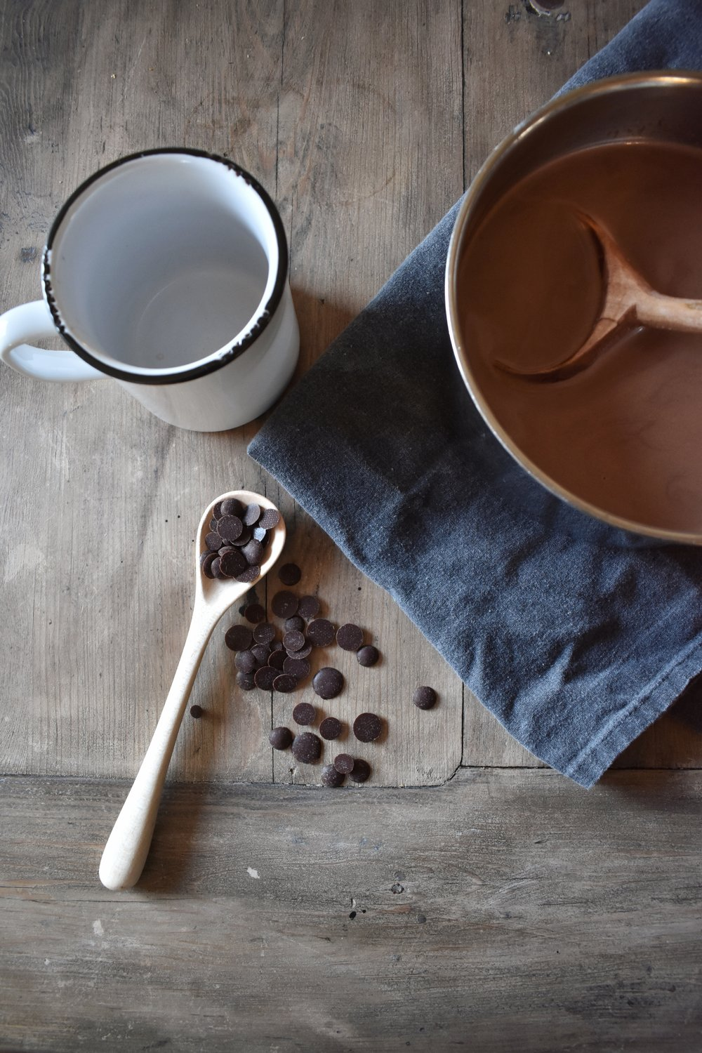 Healthy Hot Chocolate Recipe that is void of processed chemicals. Easy, Simple, Quick Recipe that is Paleo, Keto and THM friendly