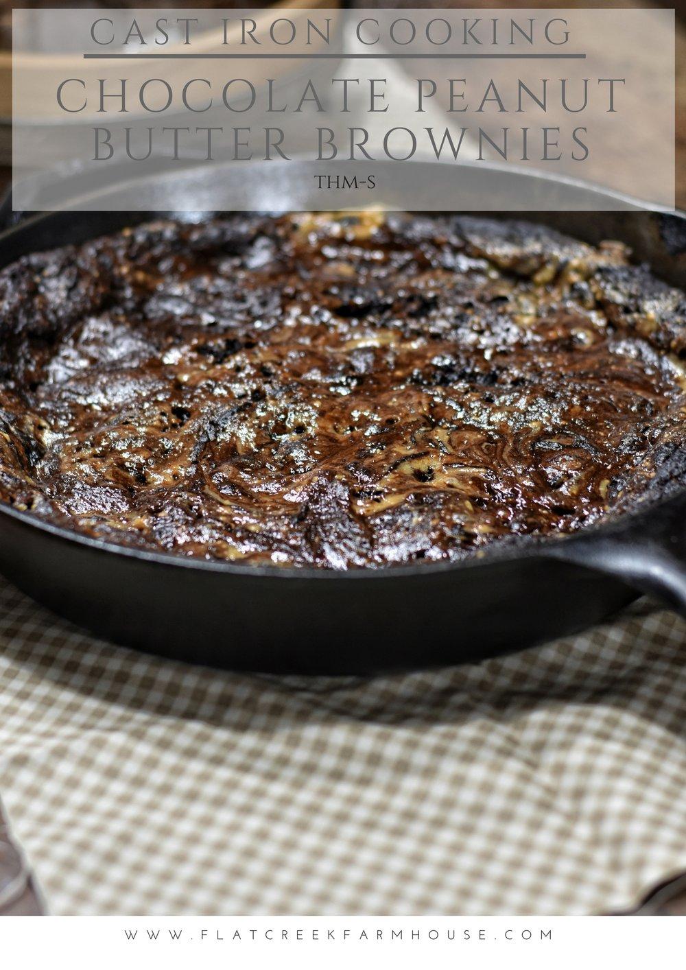 Chocolate Peanut Butter Brownies THM S Dessert