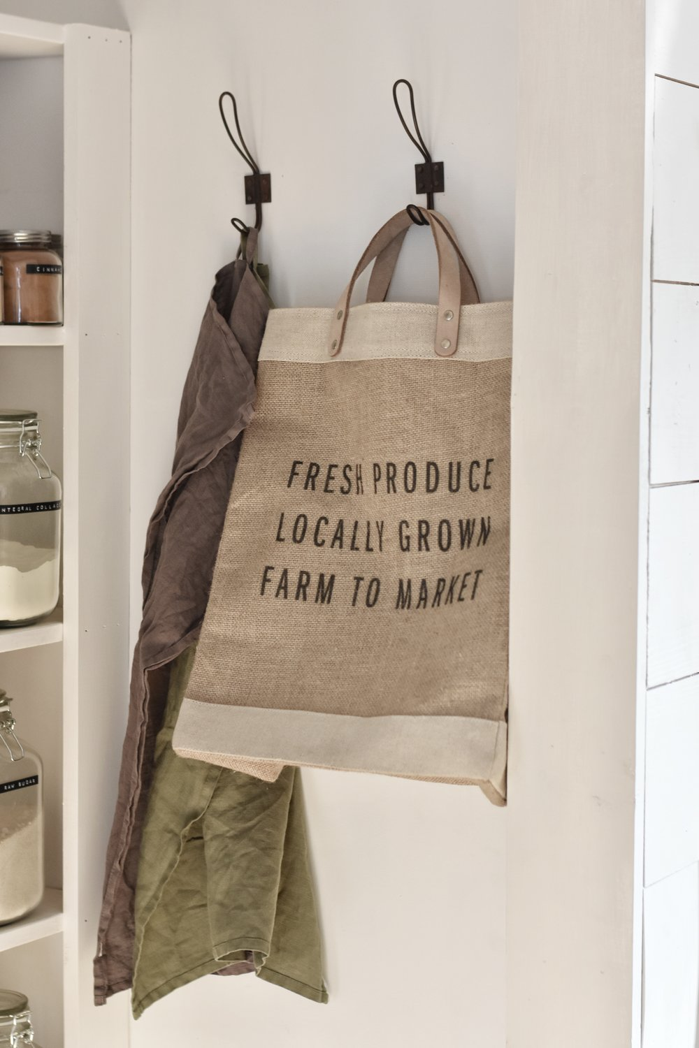 Flat Creek Farmhouse - Apolis Market Bag and Bulk Pantry Essentials