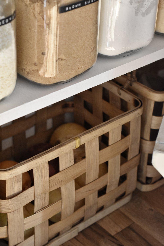 An organized pantry | Rocky Hedge Farm